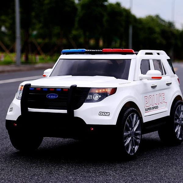 Ô tô điện cảnh sát YH-811 tải trọng 50Kg – BH 6 tháng