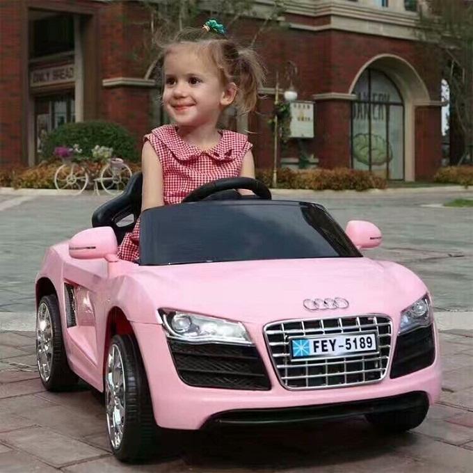 Ô tô điện trẻ em AUDI FEY-5189 đồ chơi vận động cho bé tự lái và remote – XẢ KHO 3 NGÀY