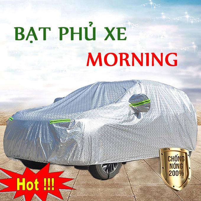 Bạt phủ Kia Morning Lớp Cao Cấp – Bạt Trùm xe Chống Nóng Chống Thấm Tuyệt Đối